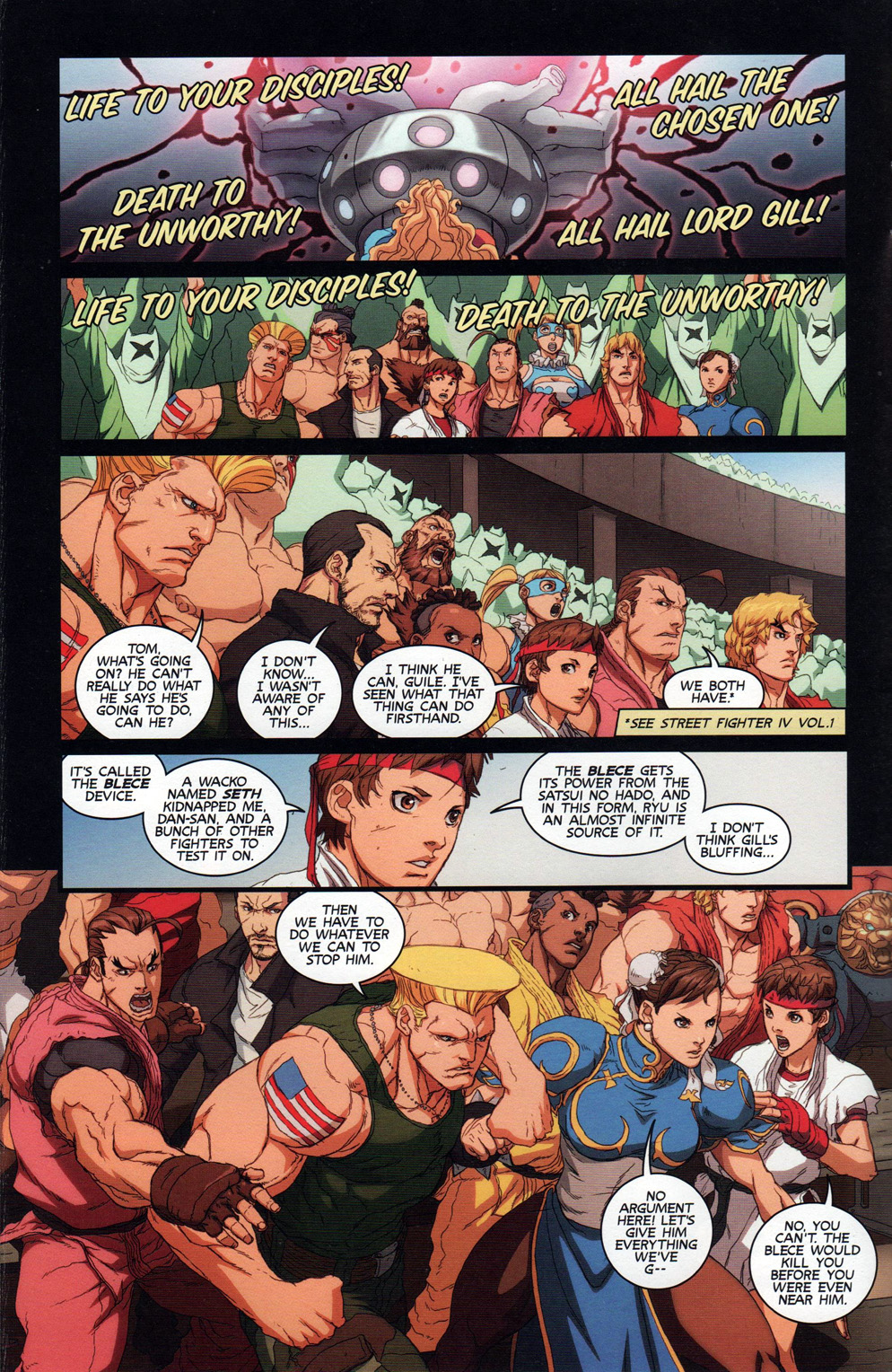 Street Fighter Unlimited Issue #10 #12 - English 12