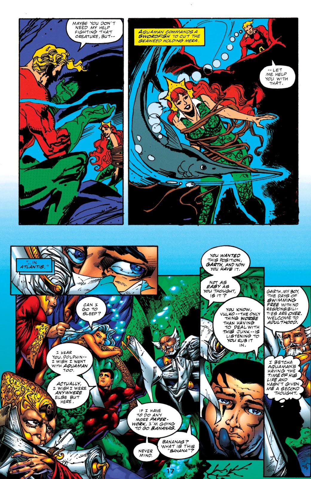 Aquaman (1994) Issue #52 #58 - English 17
