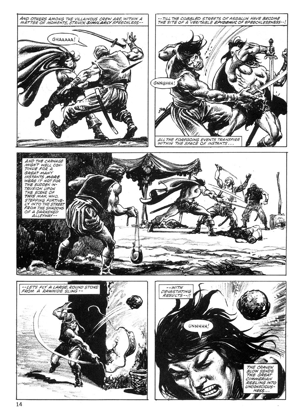 The Savage Sword Of Conan Issue #89 #90 - English 14