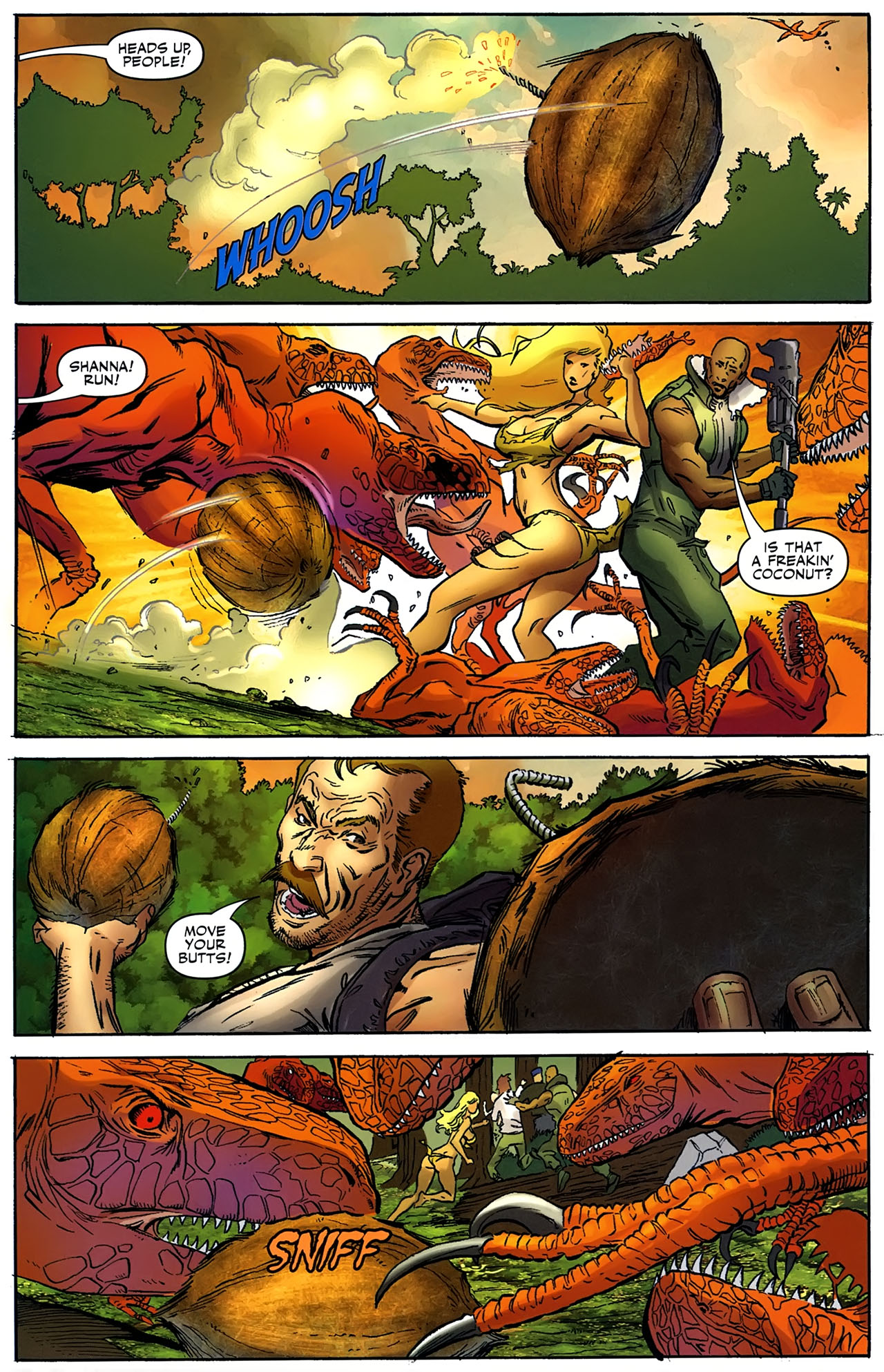 Read online Shanna the She-Devil: Survival of the Fittest comic -  Issue #4 - 15