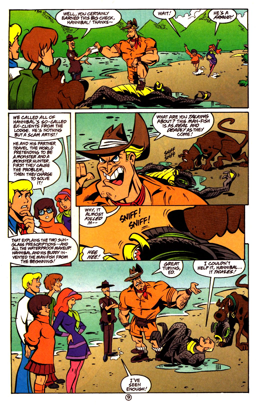 Read online Scooby-Doo (1997) comic -  Issue #23 - 23