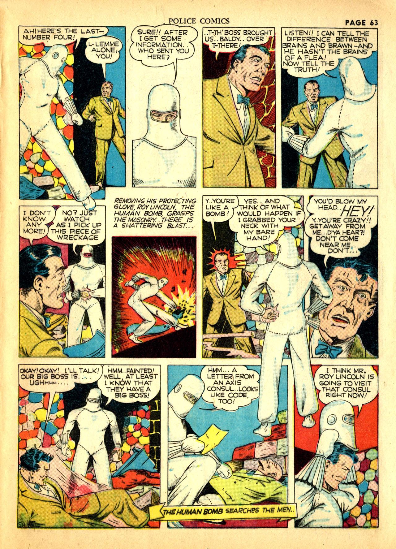 Police Comics #1 #127 - English 66