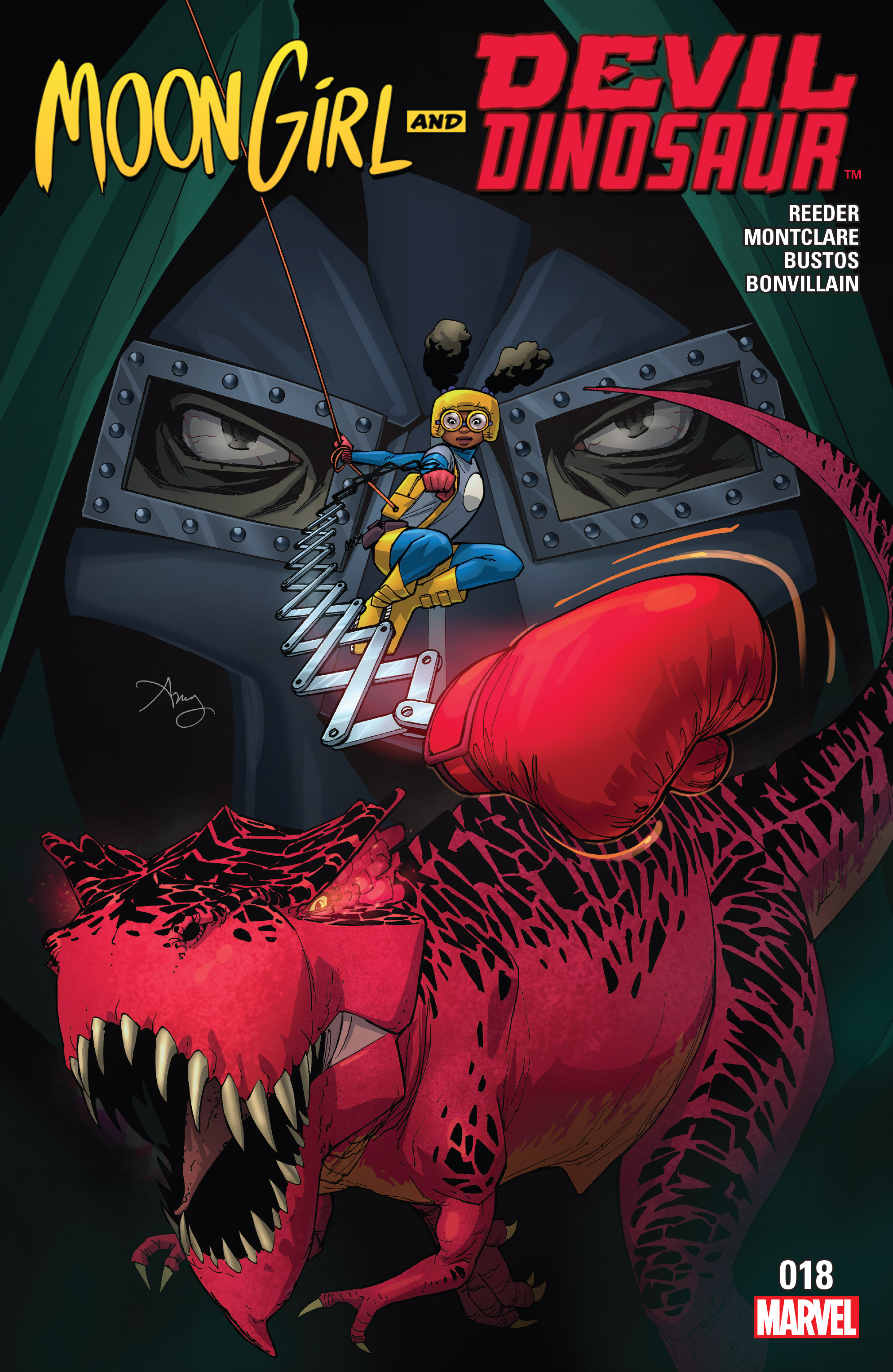 Moon Girl And Devil Dinosaur issue 18 - Page 1