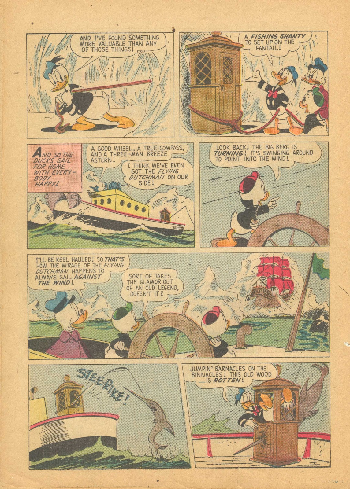 Uncle Scrooge (1953) Issue #25 #25 - English 22