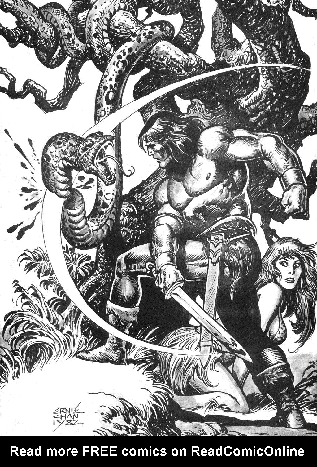 The Savage Sword Of Conan Issue #87 #88 - English 62