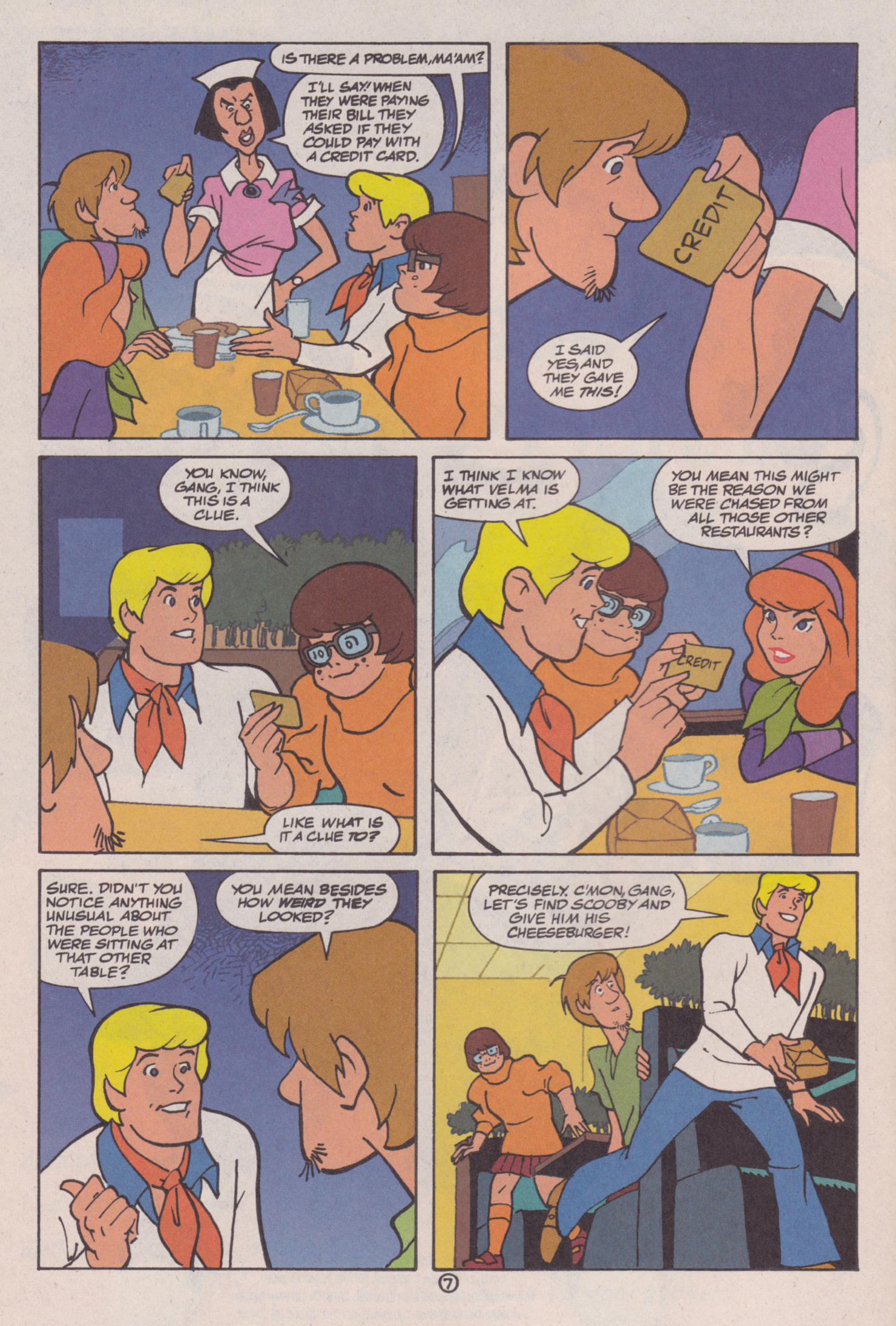 Read online Scooby-Doo (1997) comic -  Issue #8 - 8