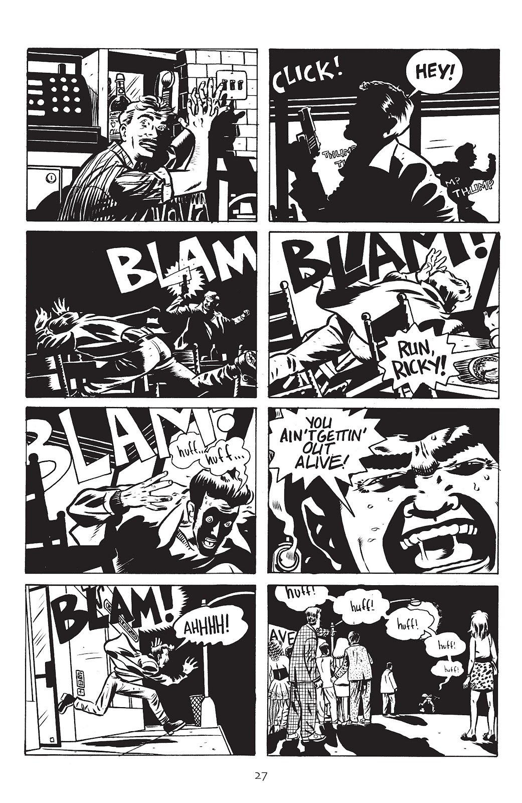 Stray Bullets Issue #17 #17 - English 29