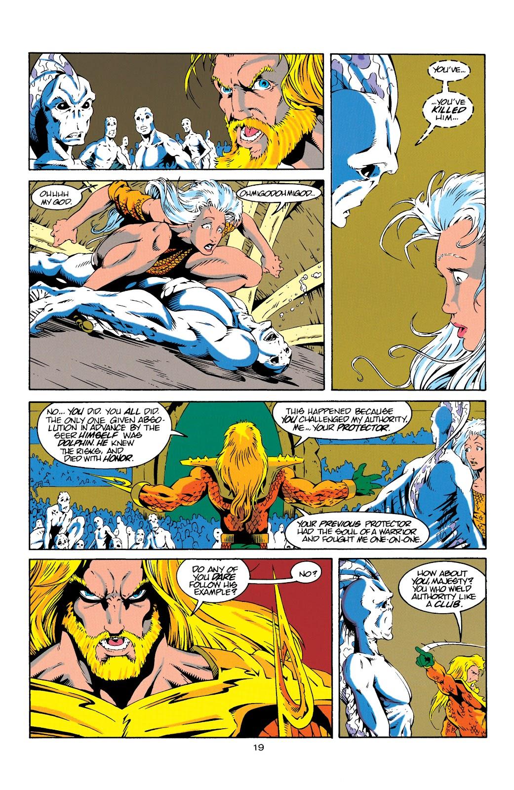 Aquaman (1994) Issue #18 #24 - English 19