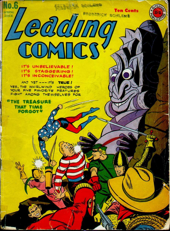 Leading Comics 6 Page 1
