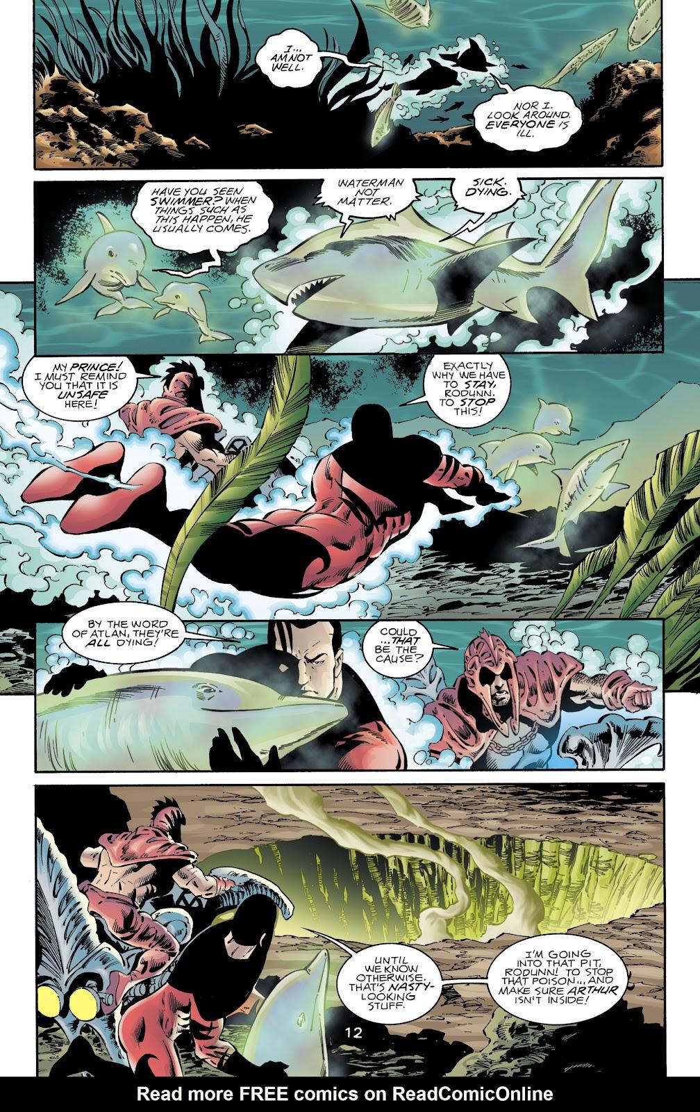 Aquaman (1994) Issue #72 #78 - English 11