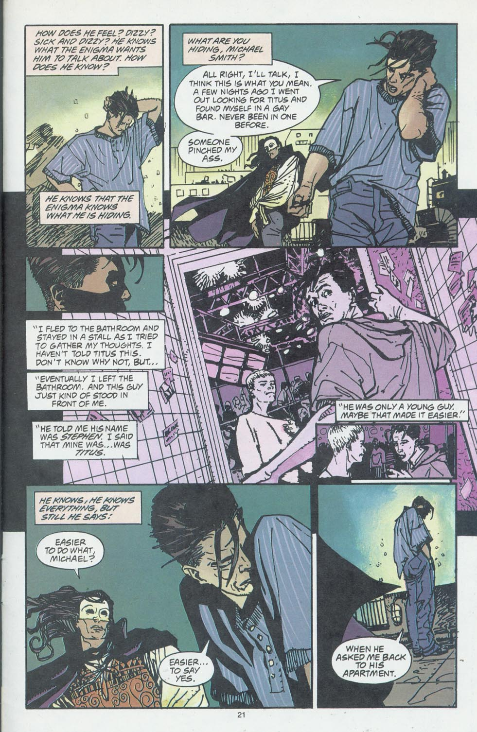 Read online Enigma comic -  Issue #6 - 23