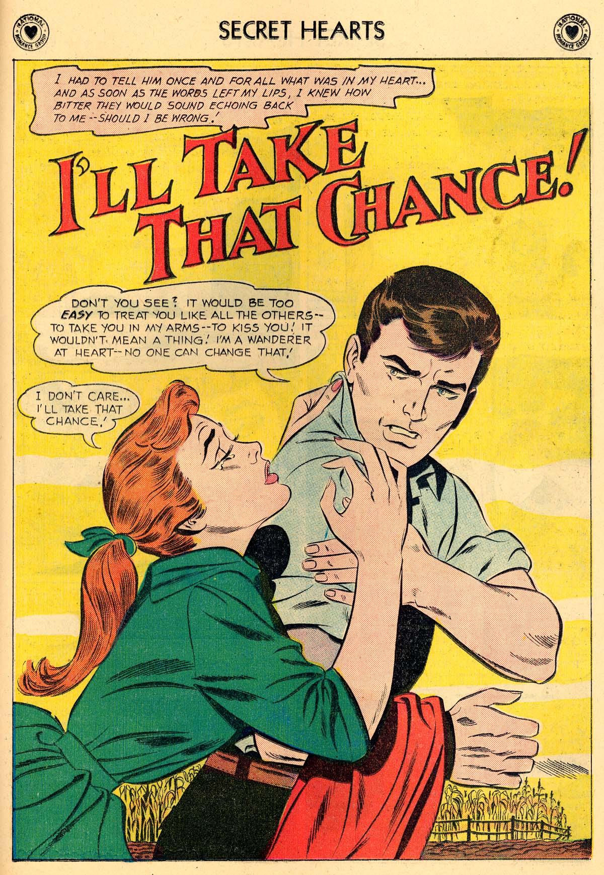 Read online Secret Hearts comic -  Issue #62 - 27