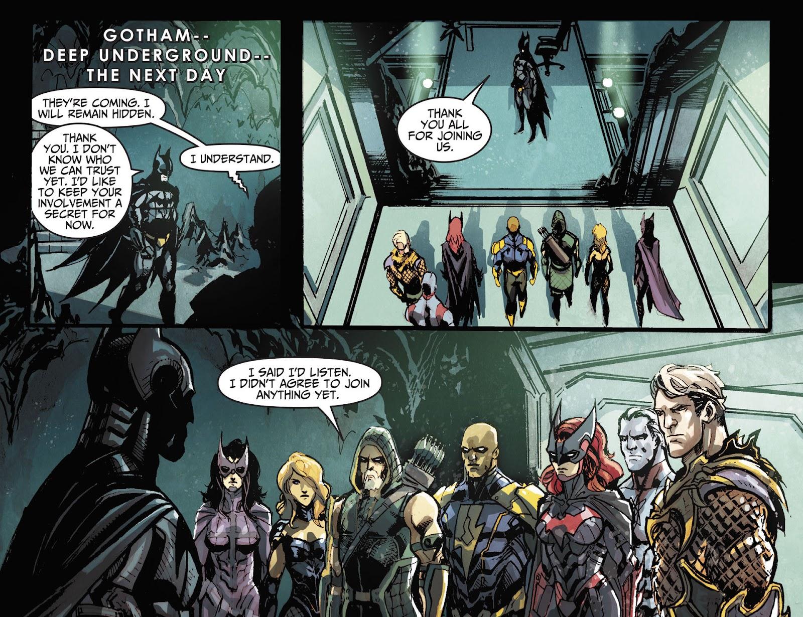 Injustice: Gods Among Us [I] Issue #18 #19 - English 21