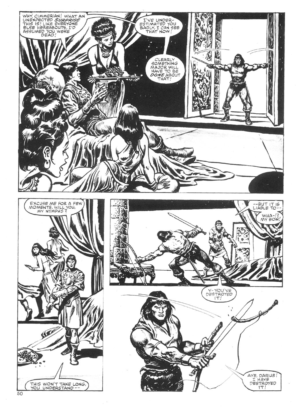 The Savage Sword Of Conan Issue #87 #88 - English 50
