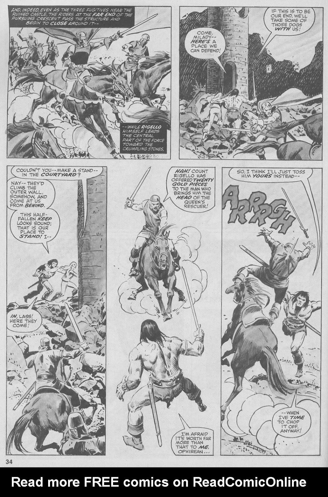 The Savage Sword Of Conan Issue #44 #45 - English 34