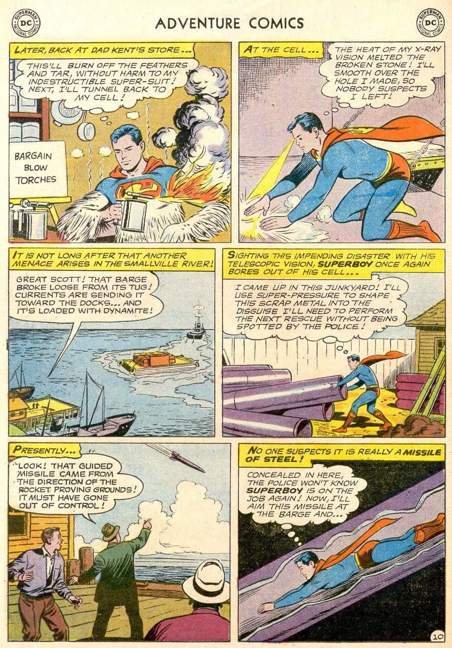 Read online Adventure Comics (1938) comic -  Issue #256 - 12