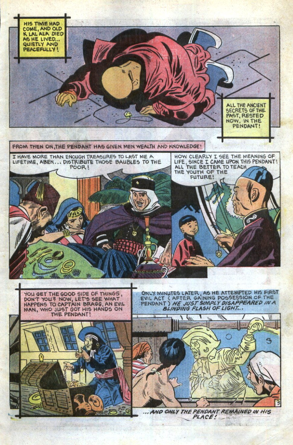 Read online Scary Tales comic -  Issue #34 - 5