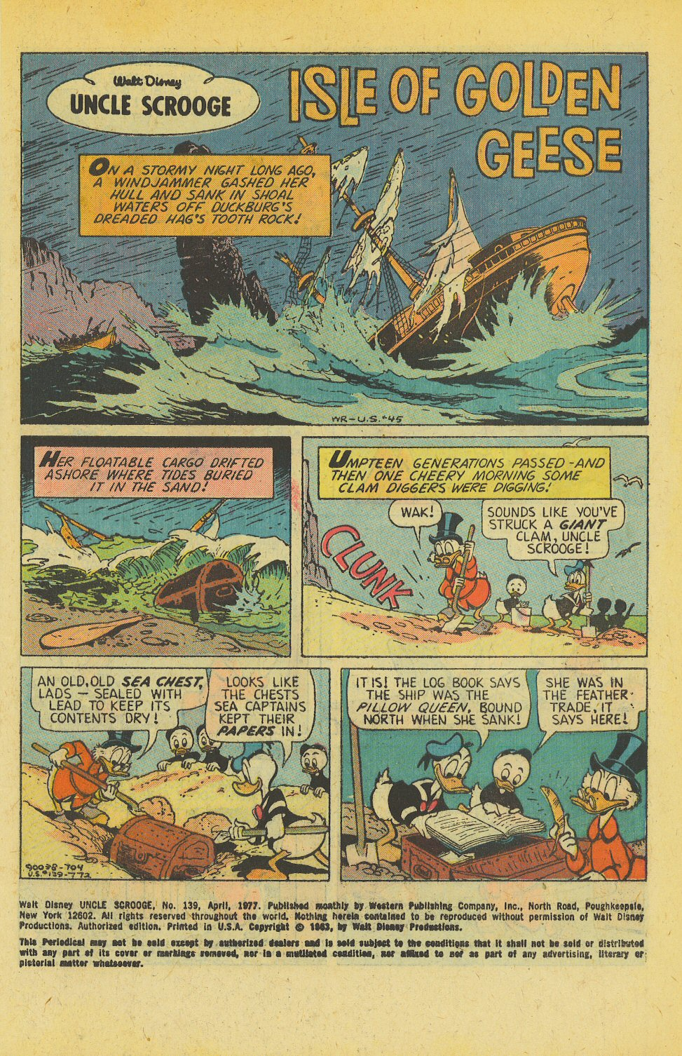 Uncle Scrooge (1953) Issue #139 #139 - English 3