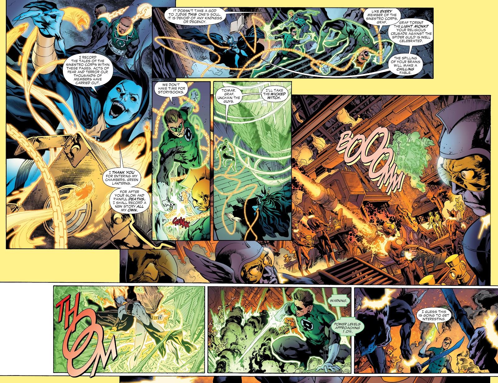 Green Lantern: The Sinestro Corps War Full #1 - English 140