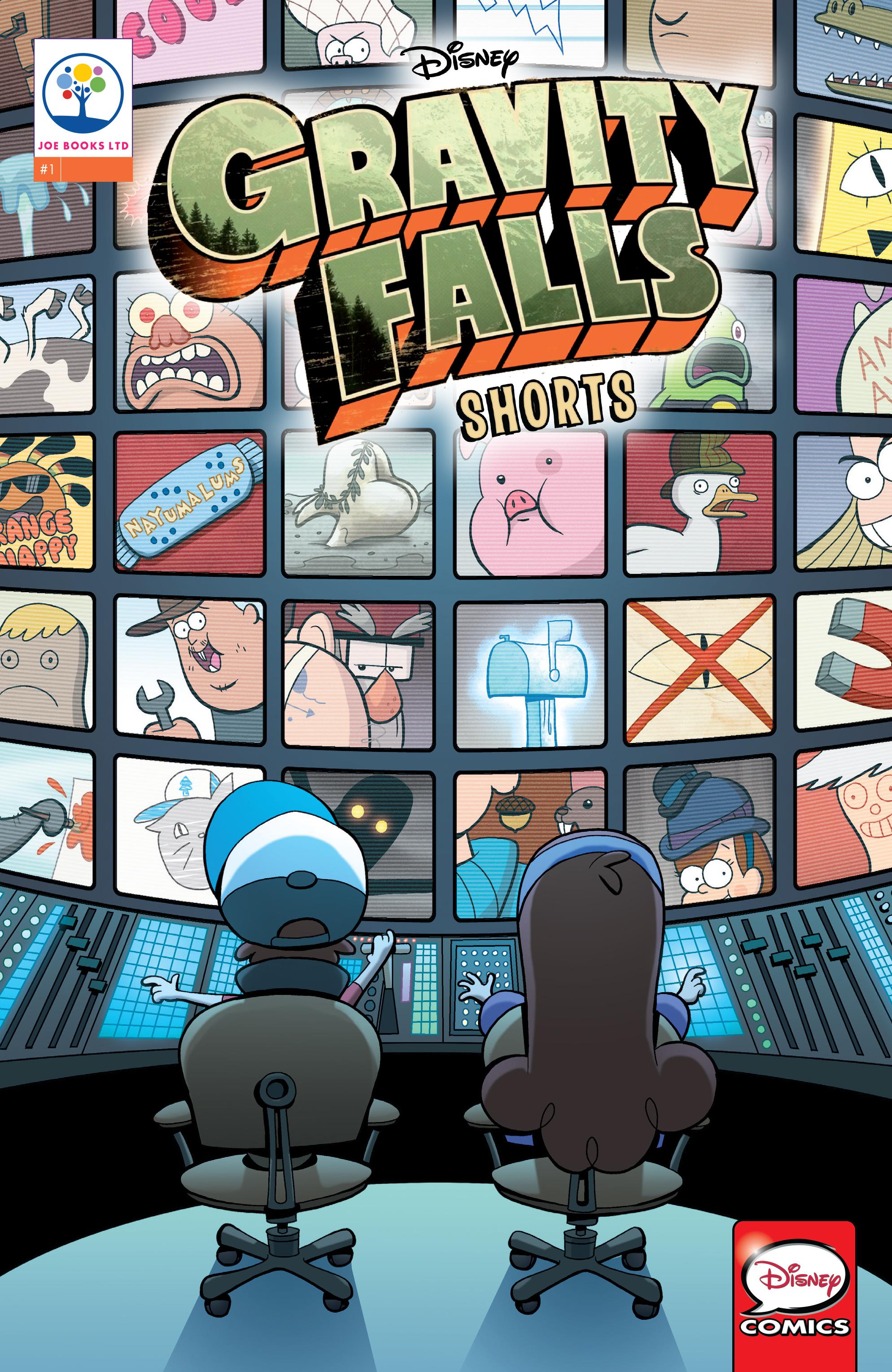 Disney Gravity Falls Shorts Cinestory Comic 1 Page 1