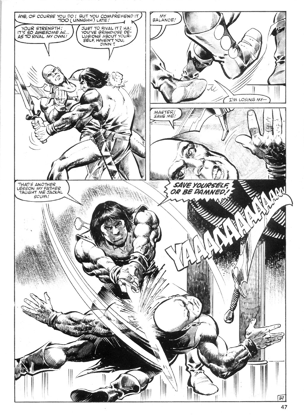 The Savage Sword Of Conan Issue #94 #95 - English 46