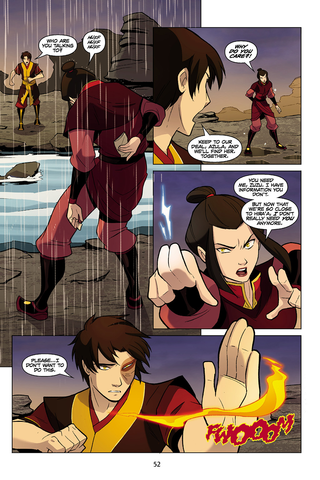 Read online Nickelodeon Avatar: The Last Airbender - The Search comic -  Issue # Part 1 - 53