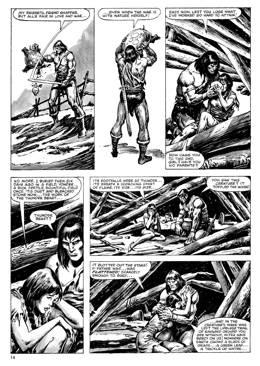 The Savage Sword Of Conan Issue #72 #73 - English 14