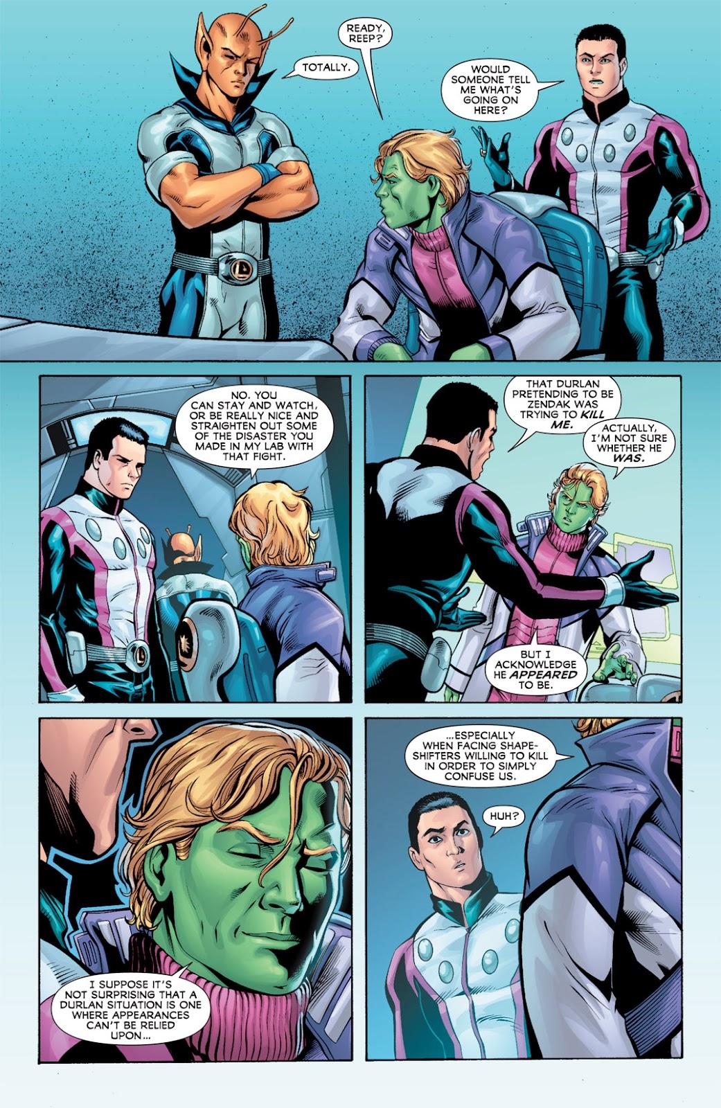 Legion of Super-Heroes (2010) Issue #10 #11 - English 8