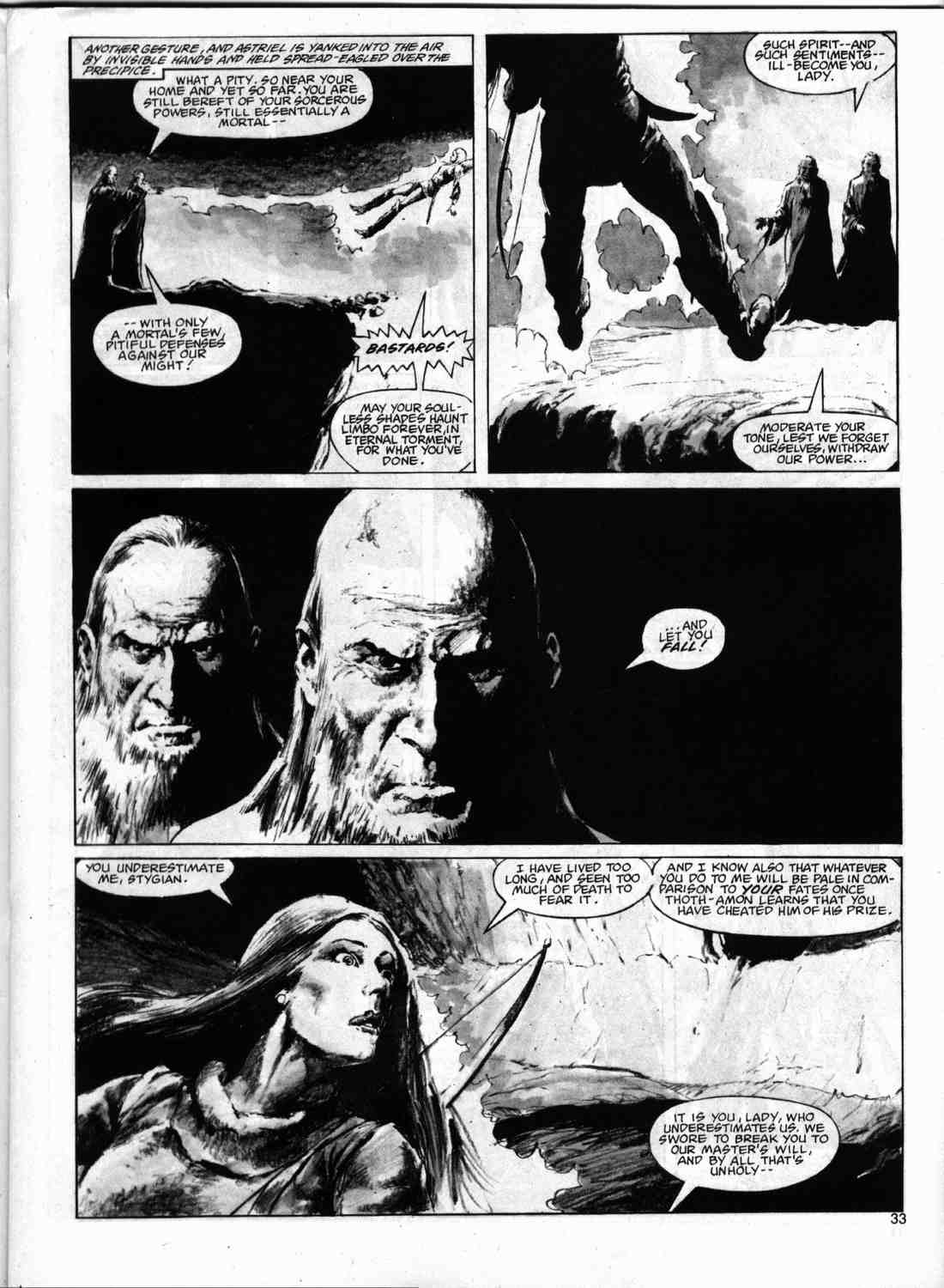 The Savage Sword Of Conan Issue #74 #75 - English 32