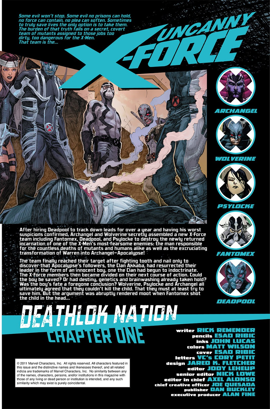 Uncanny X-Force (2010) Issue #5 #5 - English 2