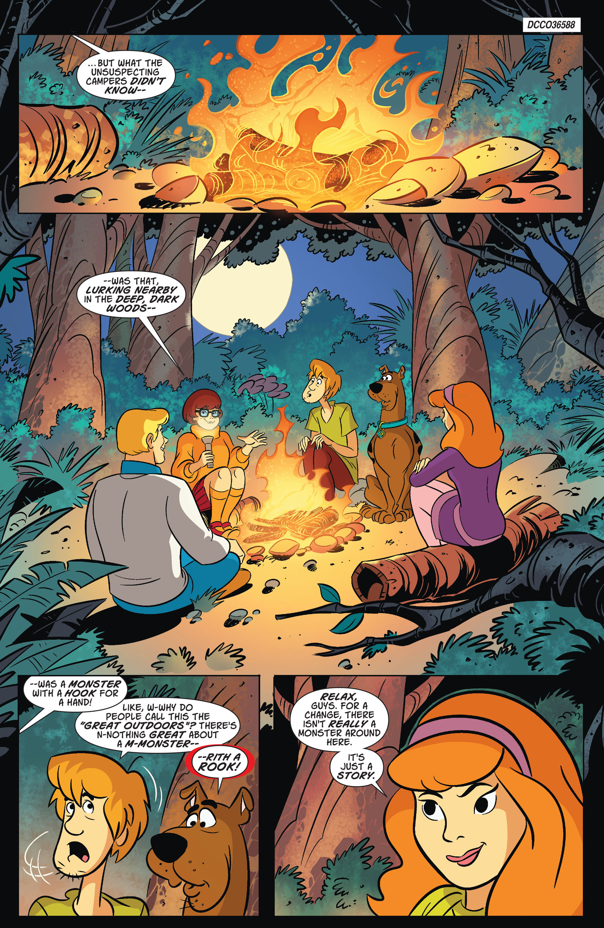 Read online Scooby-Doo: Where Are You? comic -  Issue #67 - 2