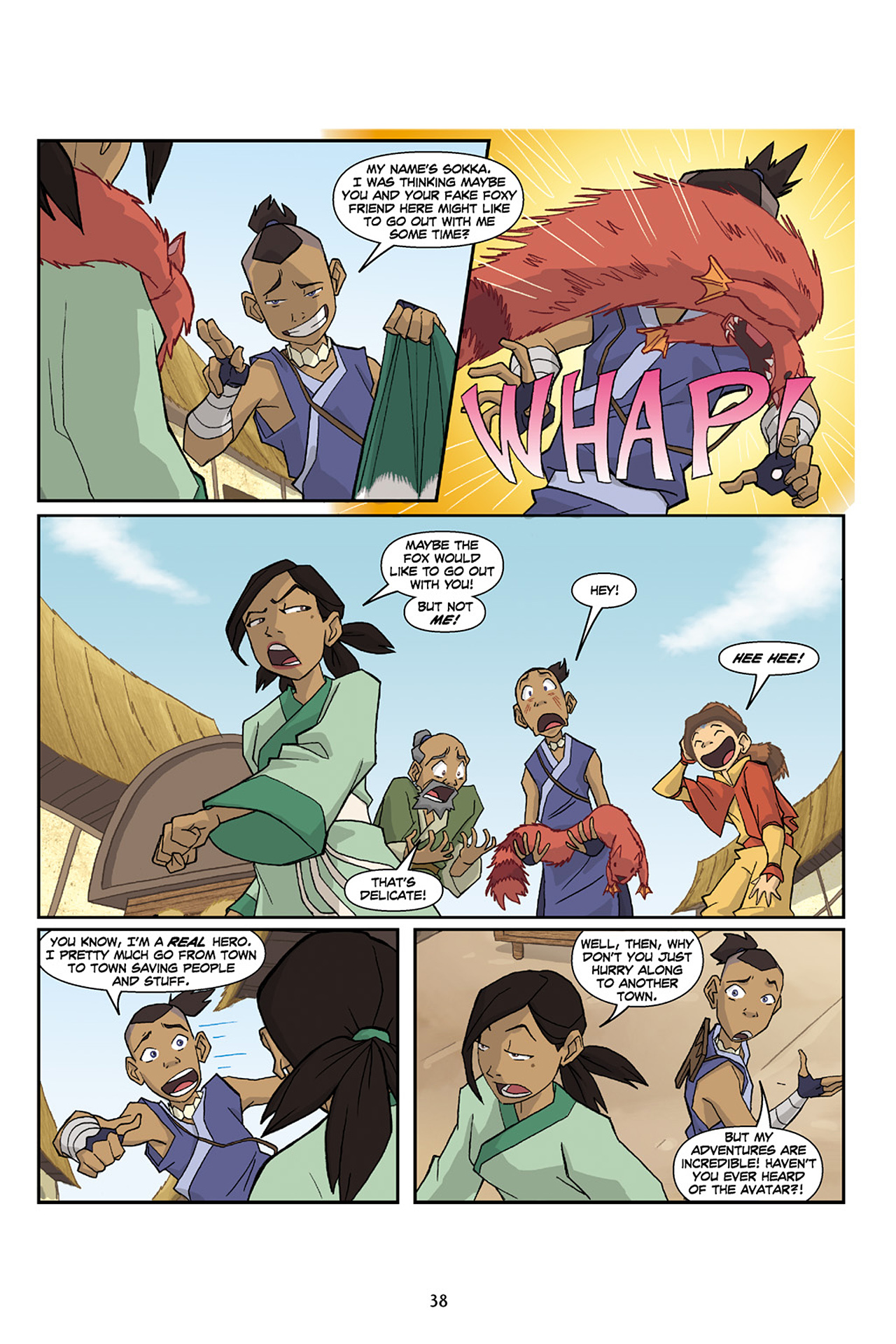 Nickelodeon Avatar: The Last Airbender - The Lost Adventures chap full pic 39