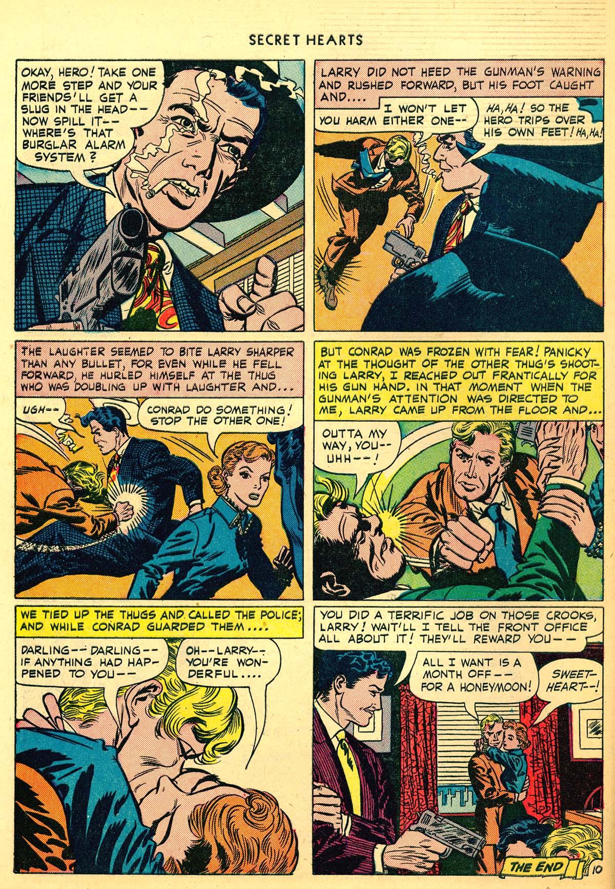 Read online Secret Hearts comic -  Issue #6 - 50