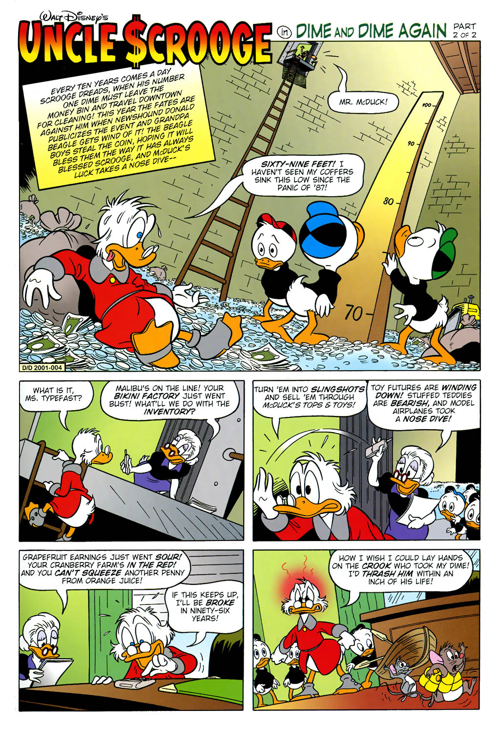 Uncle Scrooge (1953) Issue #322 #322 - English 19