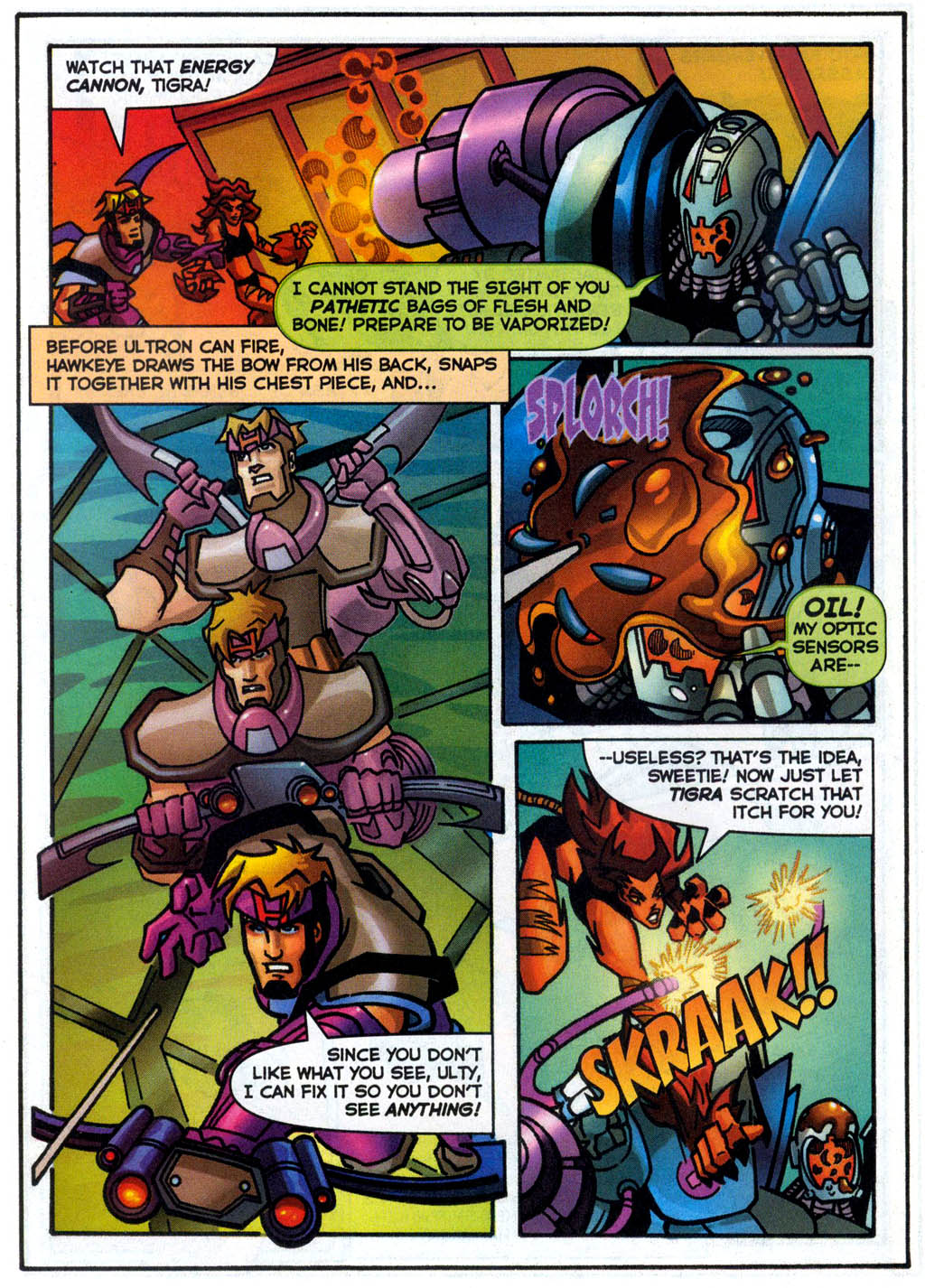 Read online Avengers United They Stand comic -  Issue #7 - 35
