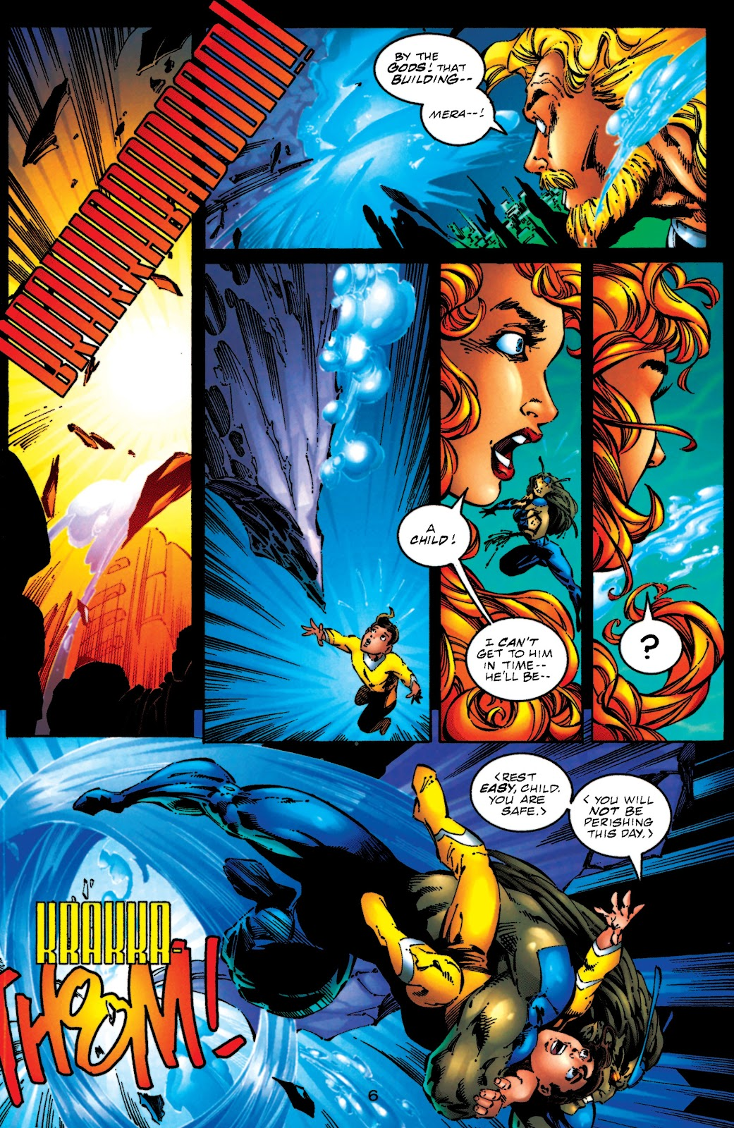 Aquaman (1994) Issue #51 #57 - English 6