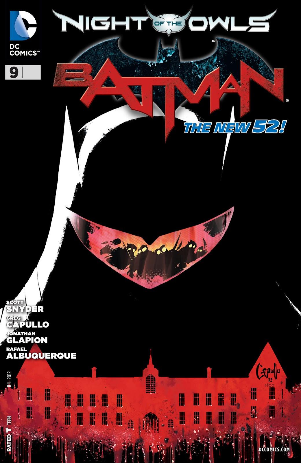 Batman (2011) Issue #9 #24 - English 1