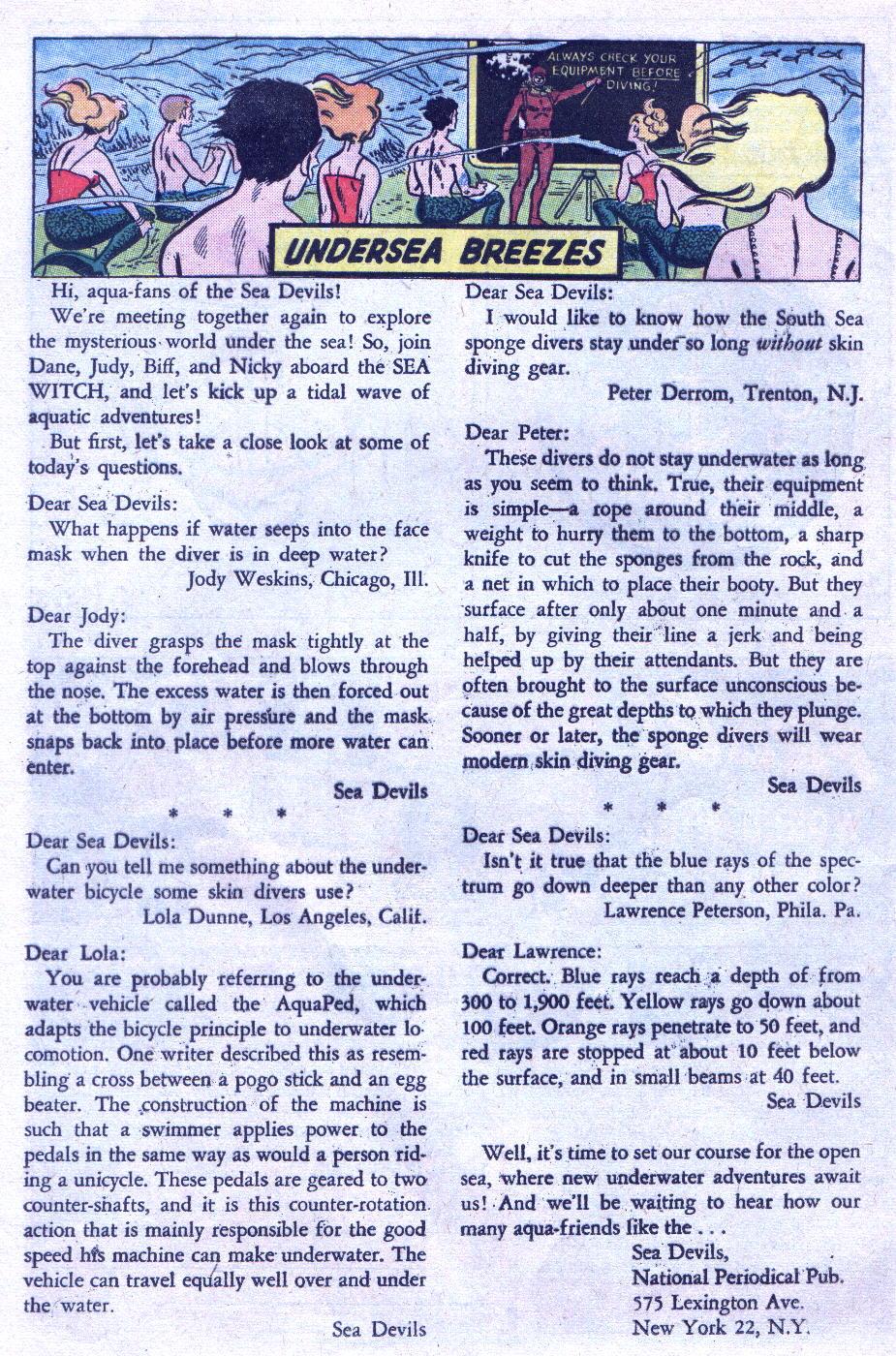 Read online Sea Devils comic -  Issue #3 - 29