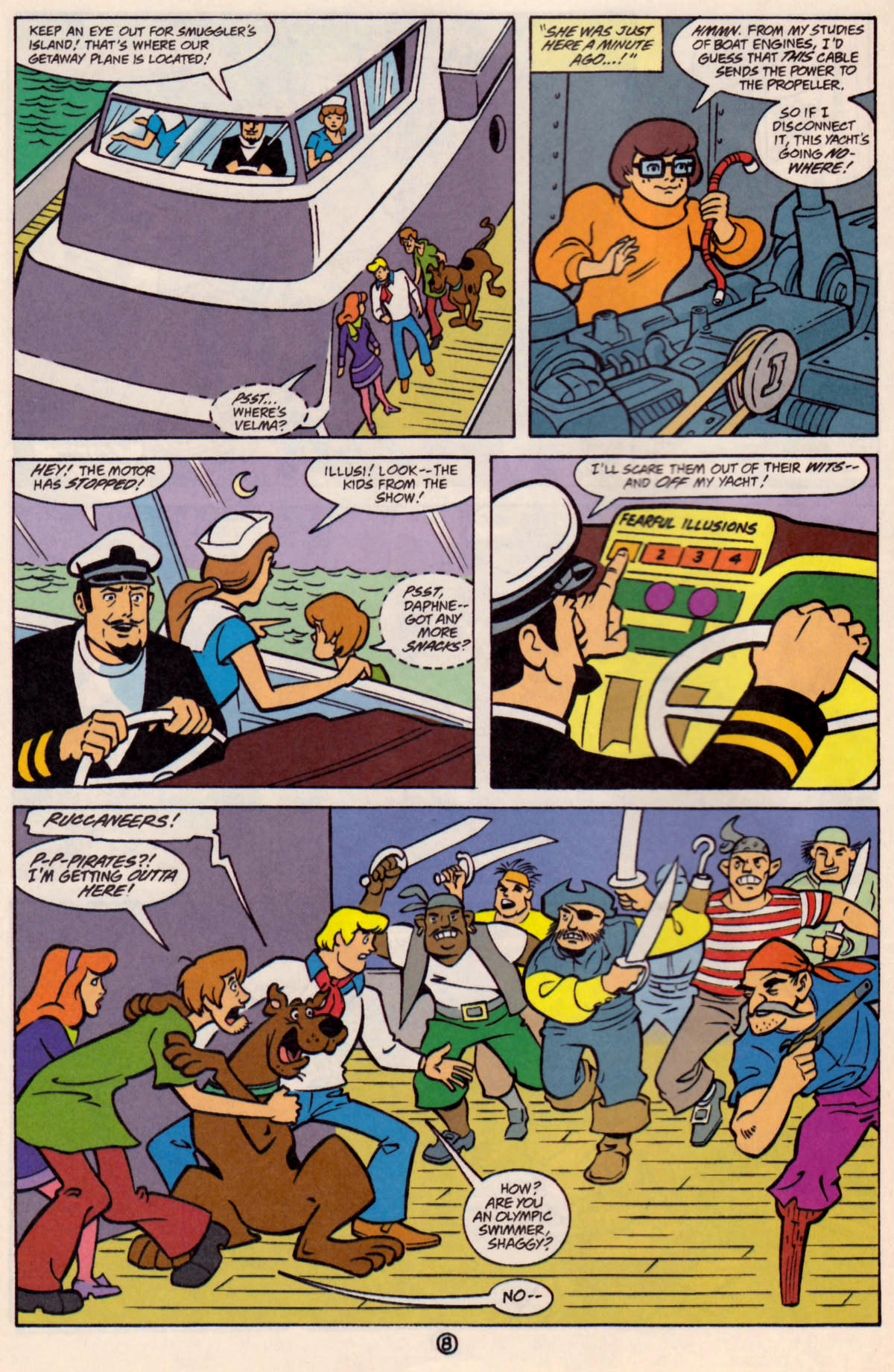 Read online Scooby-Doo (1997) comic -  Issue #24 - 9