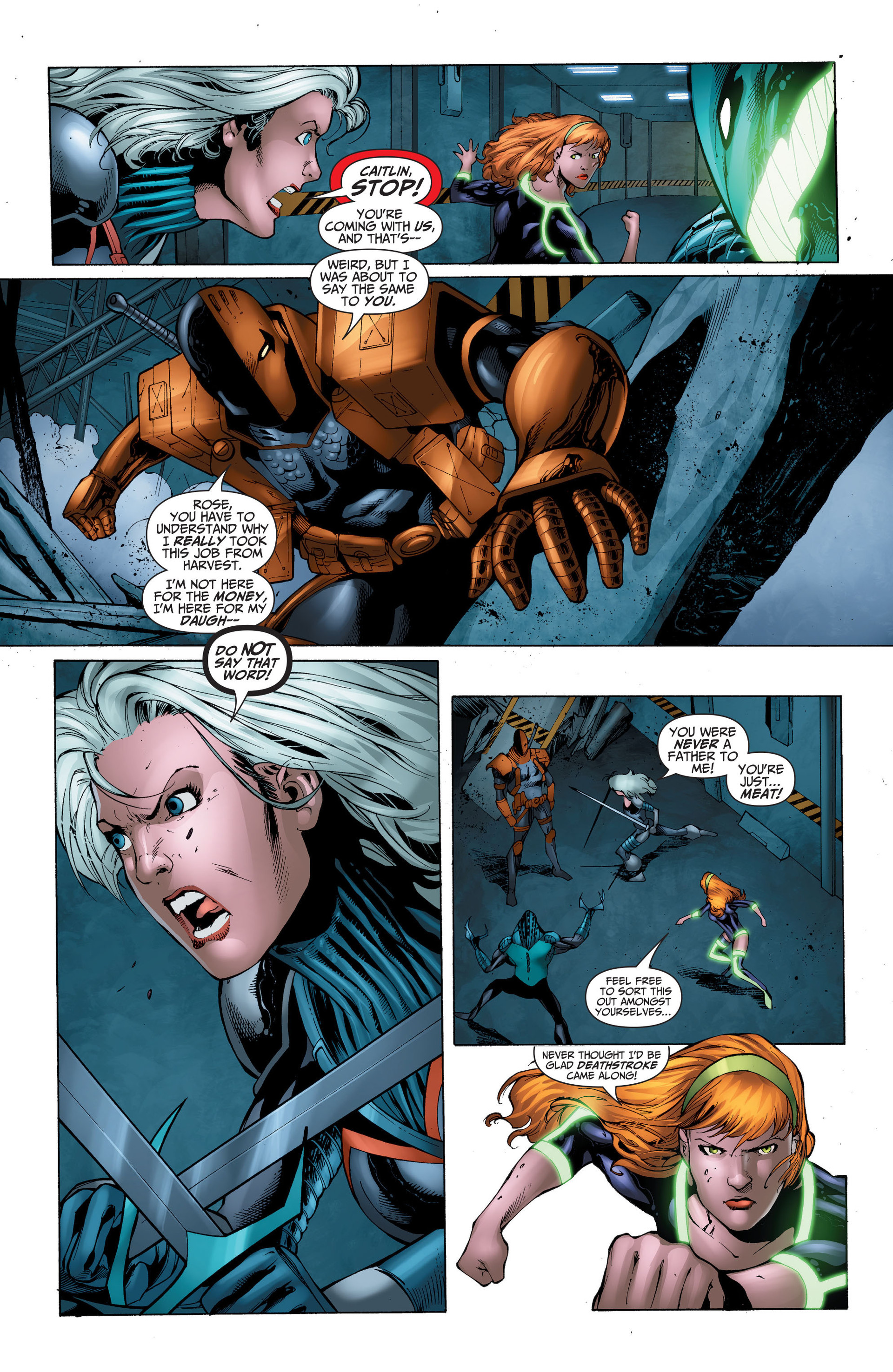 Read online The Ravagers comic -  Issue #11 - 15
