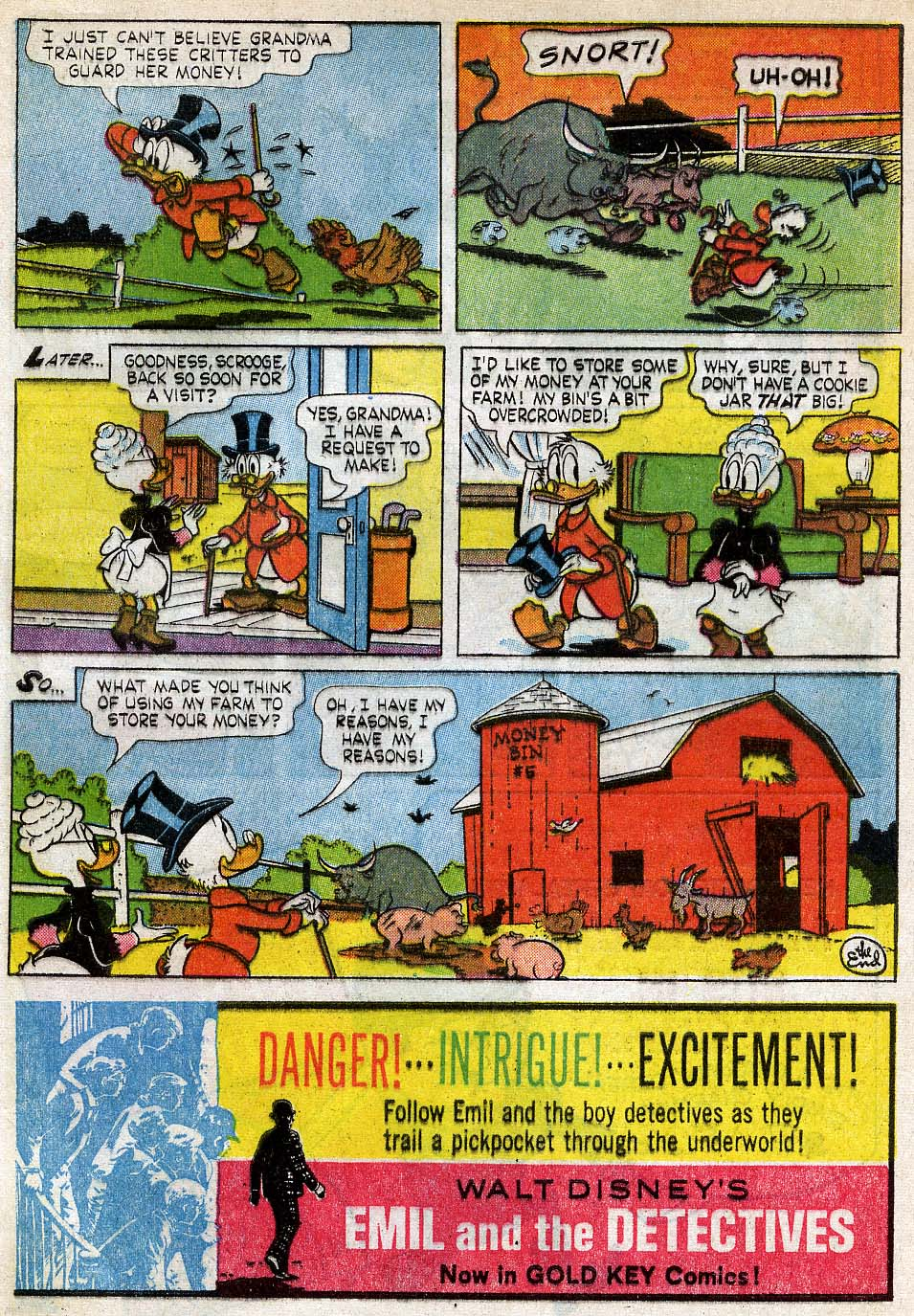 Uncle Scrooge (1953) Issue #54 #54 - English 32