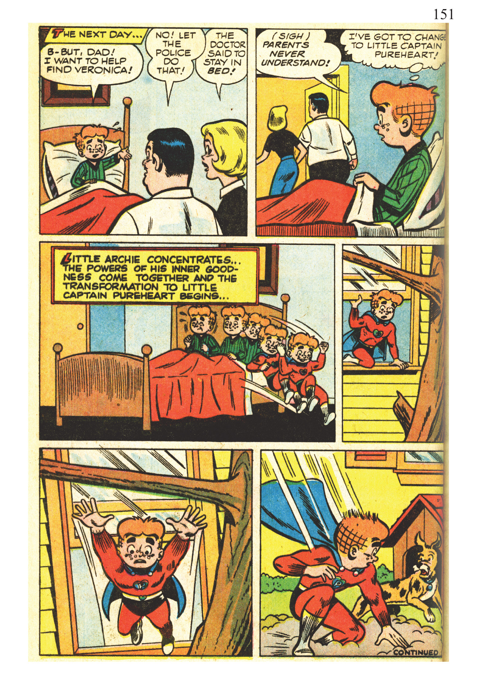 Read online The Best of Archie Comics comic -  Issue # TPB 2 (Part 1) - 153