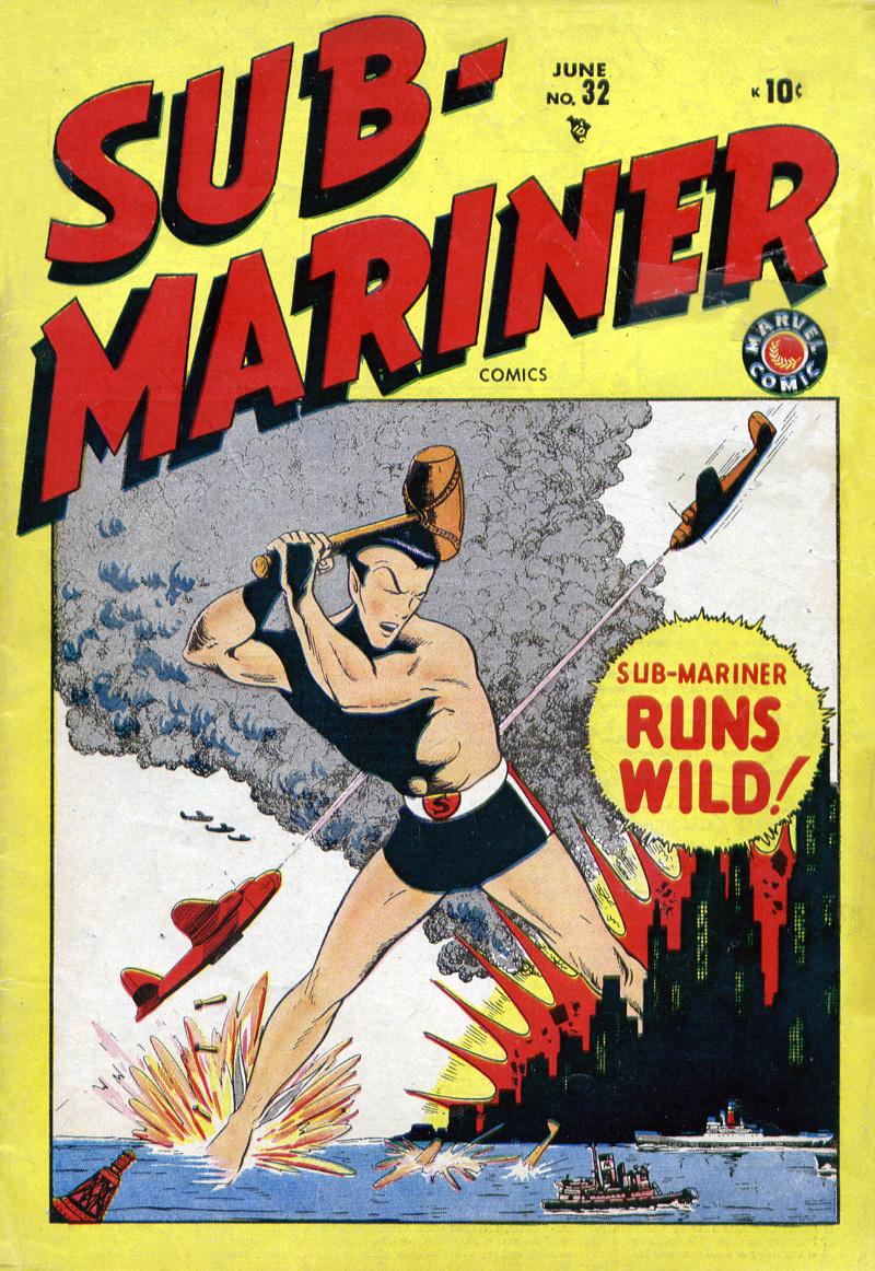 Sub-Mariner Comics 32 Page 1