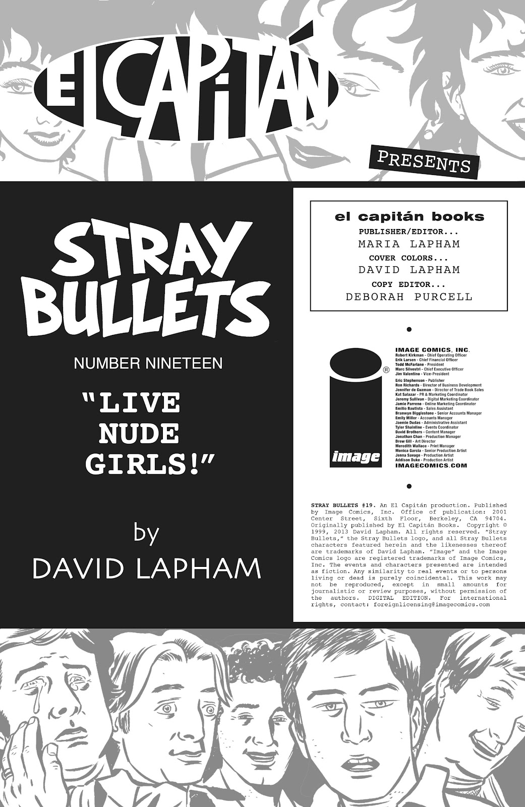 Stray Bullets Issue #19 #19 - English 2