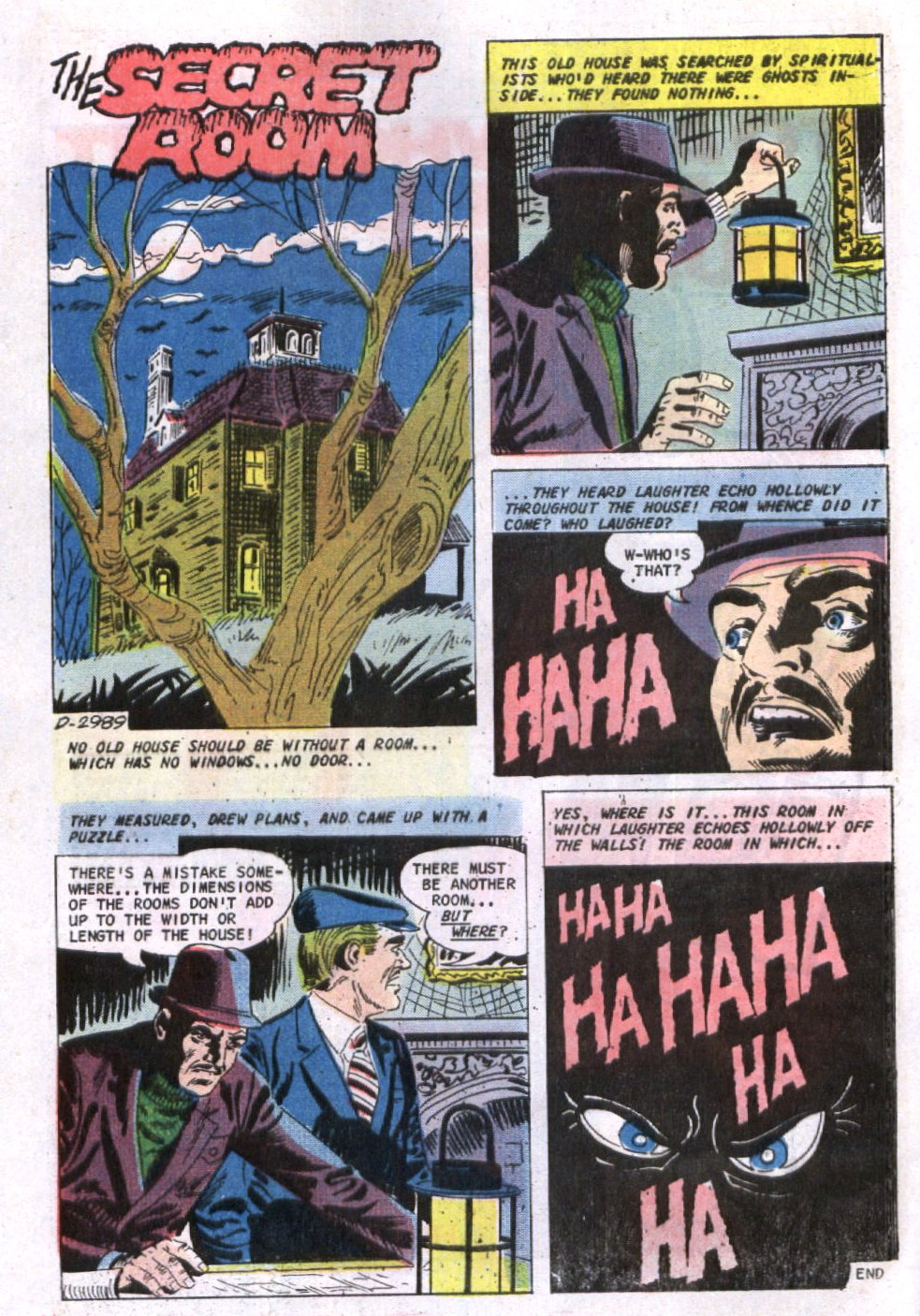 Read online Scary Tales comic -  Issue #23 - 21