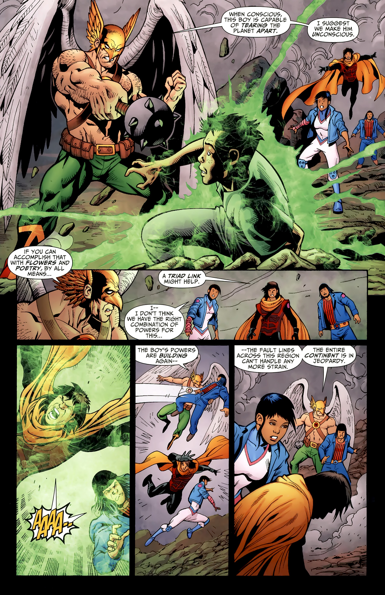 Read online Justice League of America/The 99 comic -  Issue #4 - 13