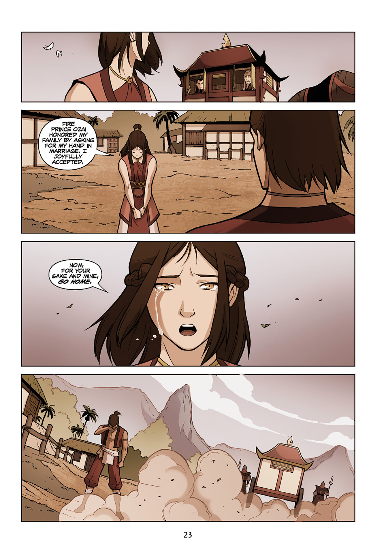 Read online Nickelodeon Avatar: The Last Airbender - The Search comic -  Issue # Part 1 - 24