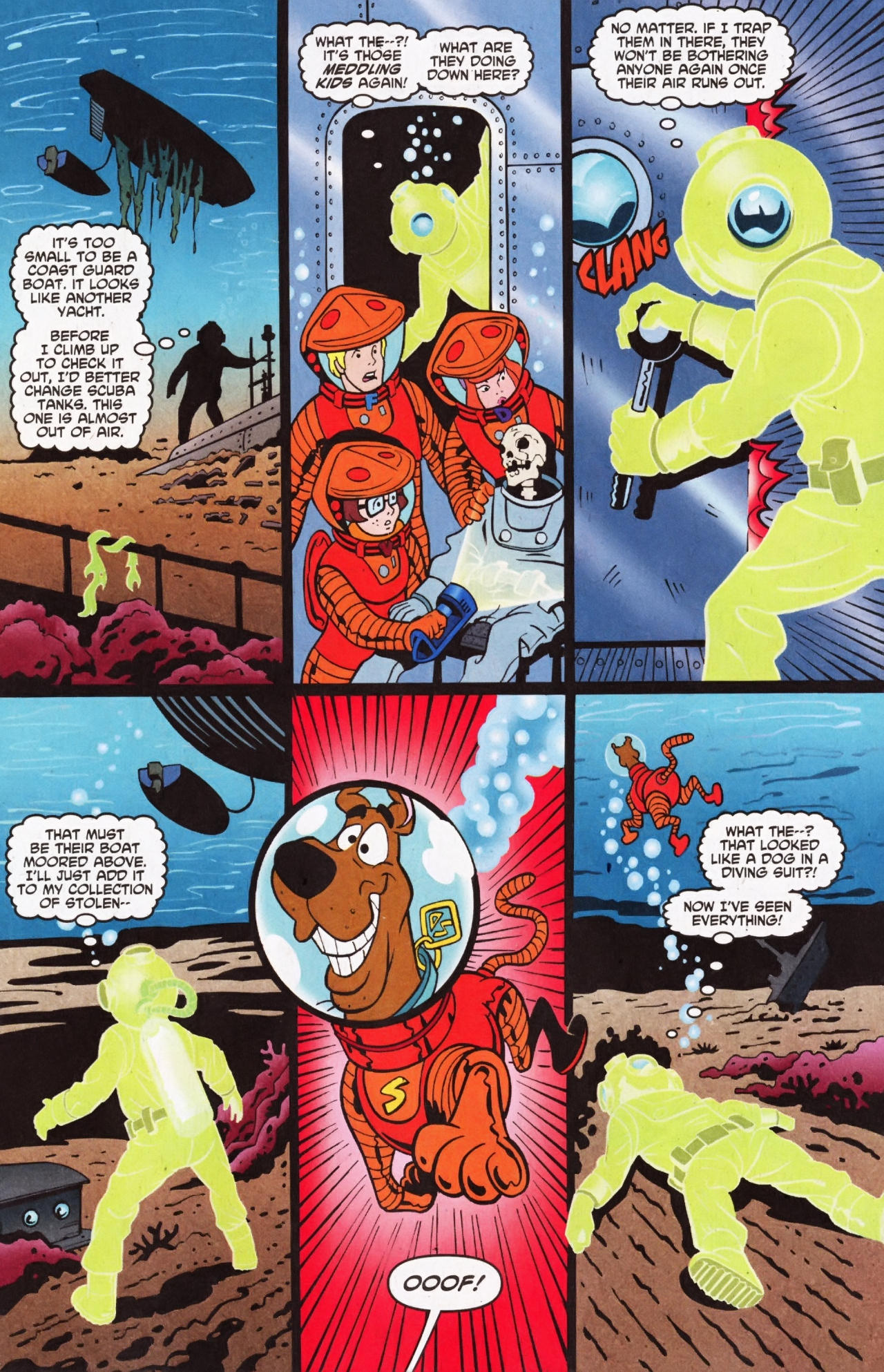 Read online Scooby-Doo (1997) comic -  Issue #135 - 11