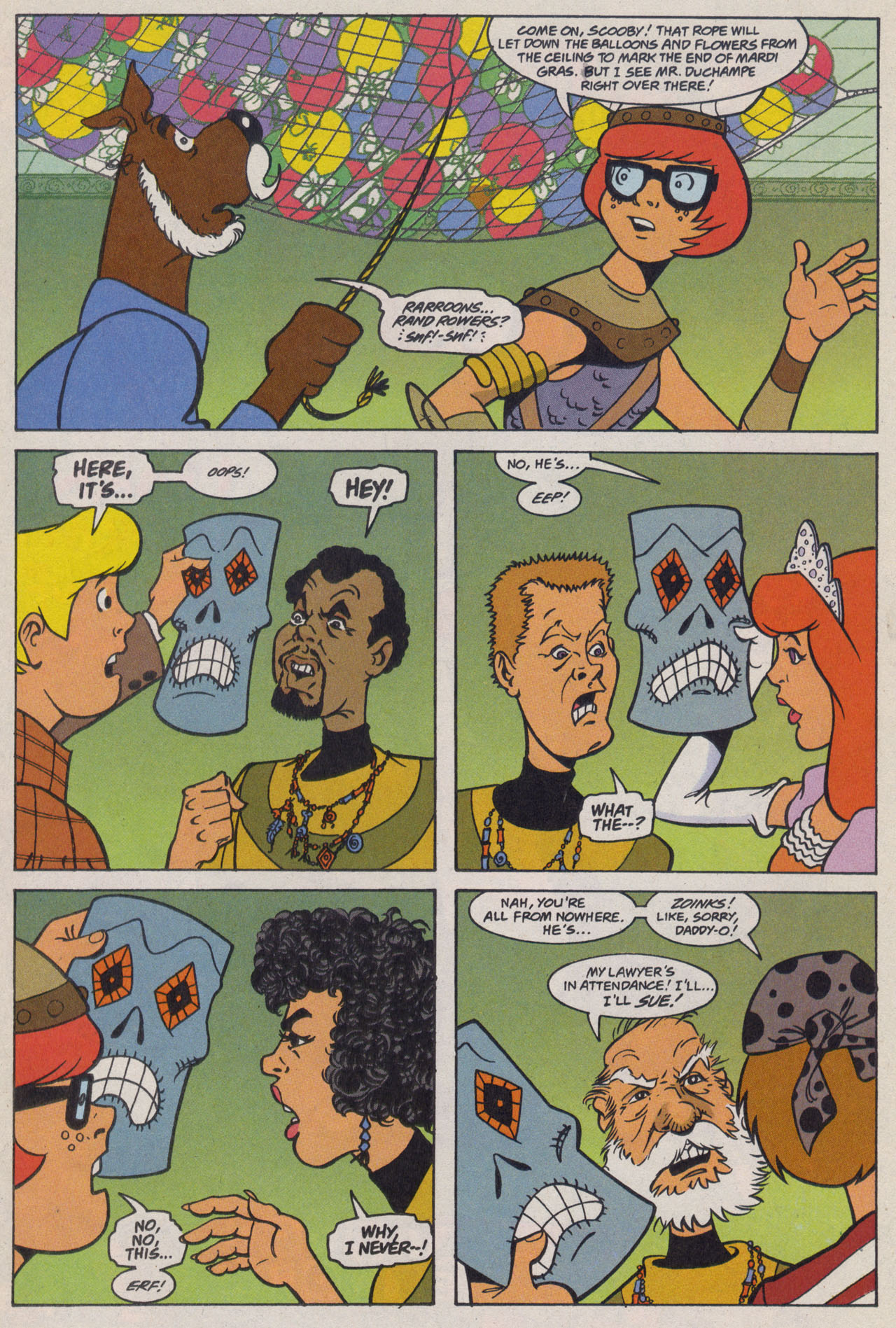 Read online Scooby-Doo (1997) comic -  Issue #9 - 17