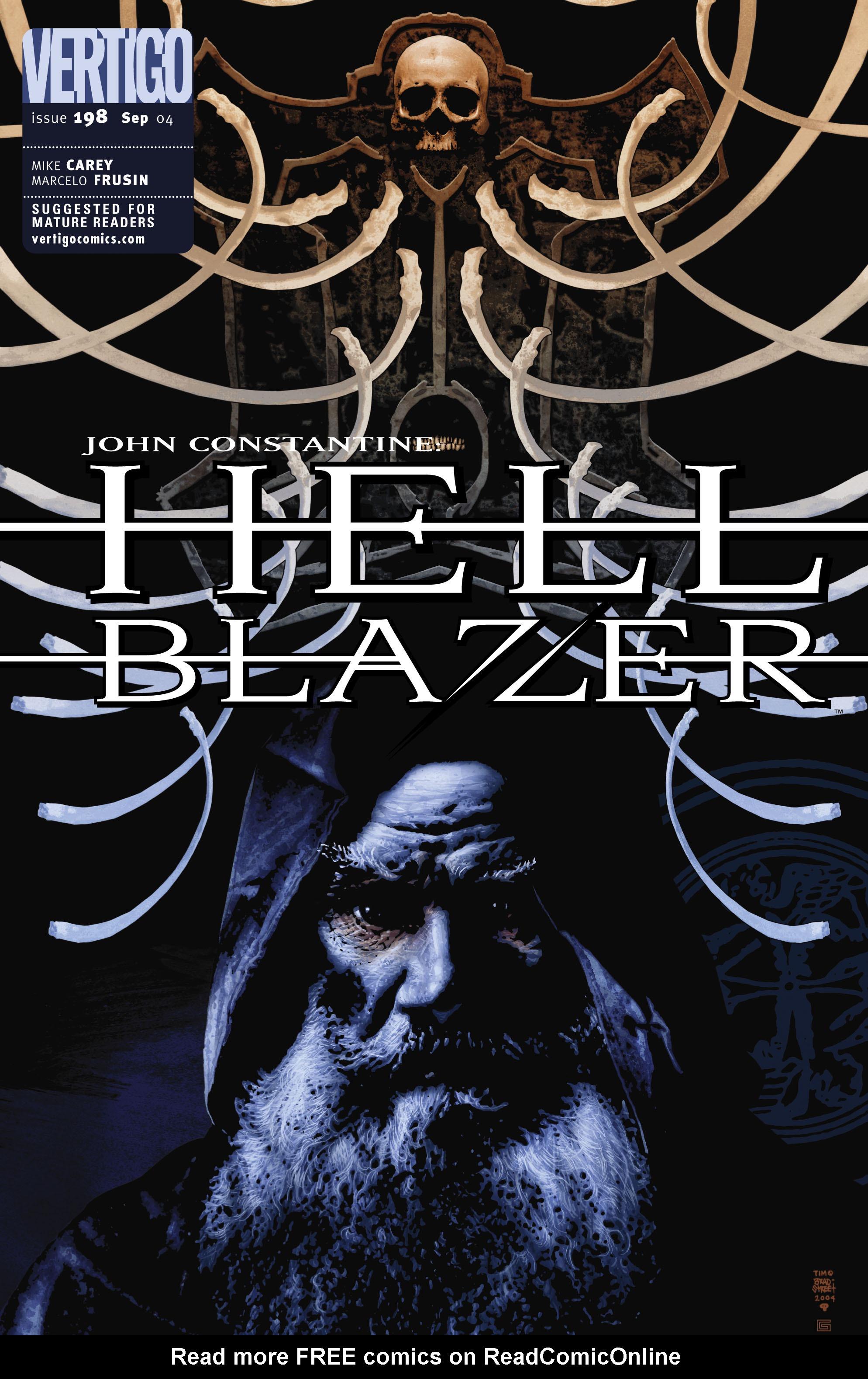 Hellblazer 198 Page 1